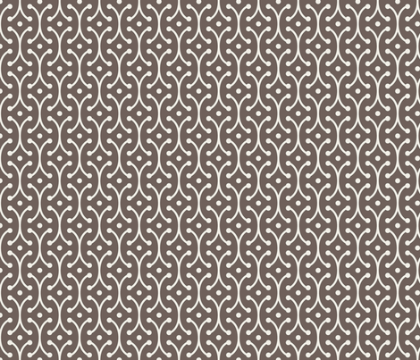 farmhouse_picket_brown fabric by holli_zollinger on Spoonflower - custom fabric