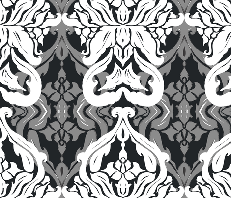 Damask_1 fabric by jae_ess_kay on Spoonflower - custom fabric