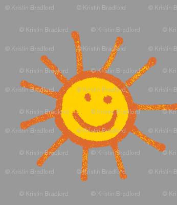 Happy Suns in Gray
