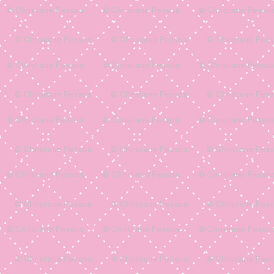Pink with white squares