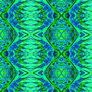 Abstract64-blue/green