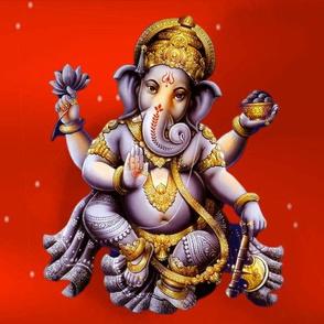 Lord Ganesha Hindu Elephant Deity