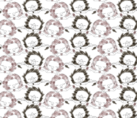 lionlamb3 fabric by rdilley on Spoonflower - custom fabric