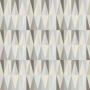 Harlequin Pattern Grey