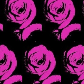 Everythings Coming Up Hot Pink Roses