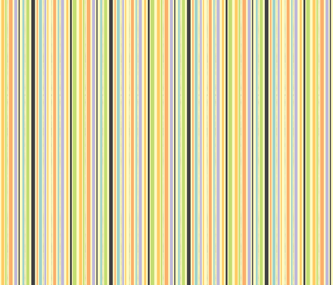 Catnap coordinate-stripe fabric by jennartdesigns on Spoonflower - custom fabric
