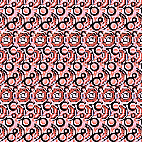 rose india design  fabric by dk_designs on Spoonflower - custom fabric