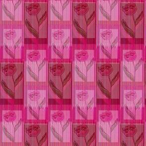 Pink tullips