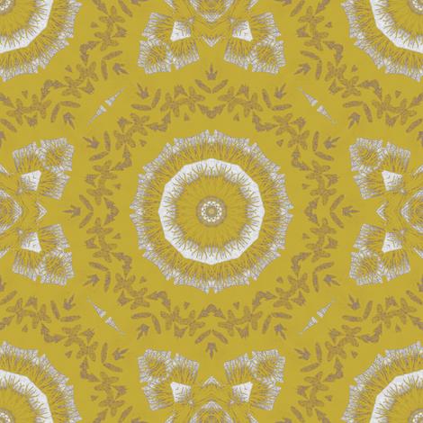 Gold fabric by kickyc on Spoonflower - custom fabric
