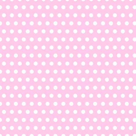 white pois on pink fabric by pimpa on Spoonflower - custom fabric
