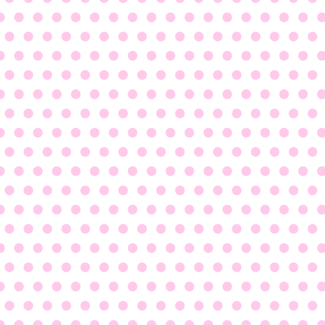 pink pois fabric by pimpa on Spoonflower - custom fabric