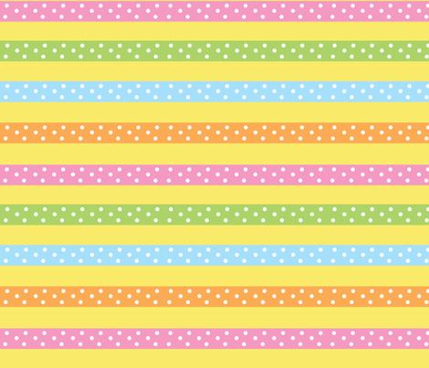 ribbonstripe fabric by mammajamma on Spoonflower - custom fabric