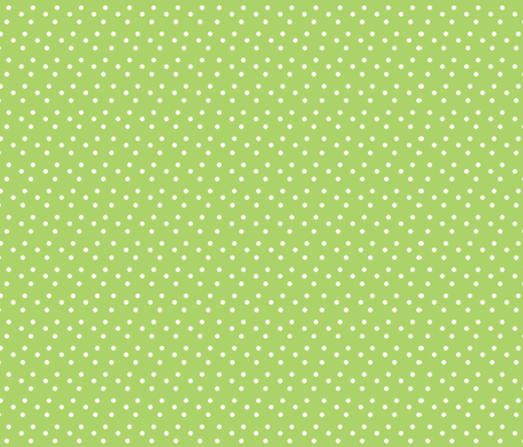 dotted_swiss-green fabric by mammajamma on Spoonflower - custom fabric