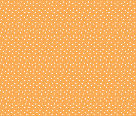 dotted_swiss-orange fabric by mammajamma on Spoonflower - custom fabric
