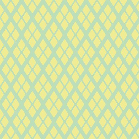 Paisley Garden Diamonds fabric by jmckinniss on Spoonflower - custom fabric