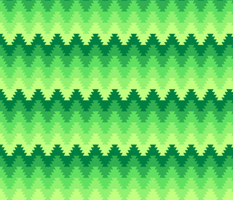 jagged zigzag fabric by sef on Spoonflower - custom fabric
