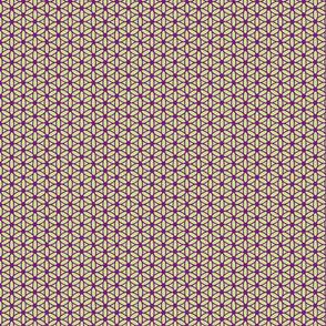 Flower of Life - Violet Lime