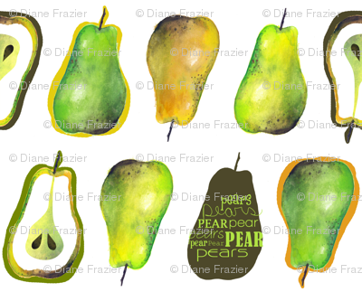 Pears - On White