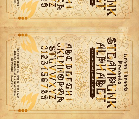 Rsteampunk_type_specimen_18x21teadye150_danielle_shop_preview