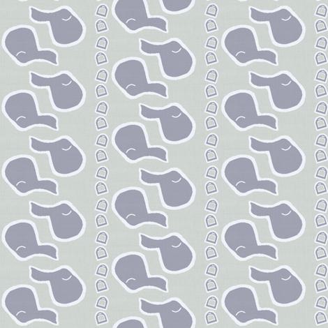 Grey Saddles fabric by ragan on Spoonflower - custom fabric