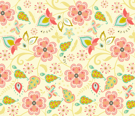 taj mahal fabric by kayajoy on Spoonflower - custom fabric