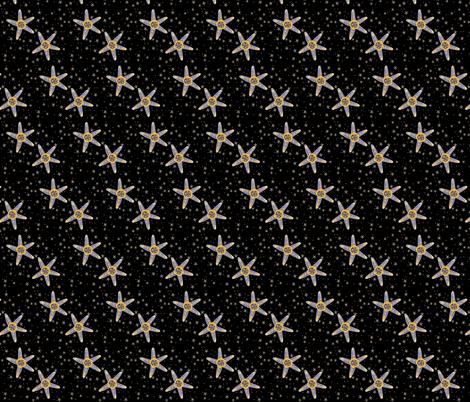 GREEK STARFISH fabric by joancaronil on Spoonflower - custom fabric