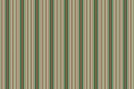 Paint by Number Woodland Ticking Stripe fabric by hollycejeffriess on Spoonflower - custom fabric