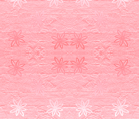 Subtle flowers on textured background - rose fabric by martaharvey on Spoonflower - custom fabric
