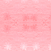 Subtle flowers on textured background - rose