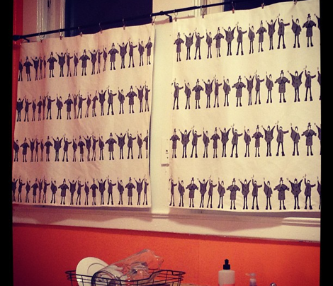 Beatles Help Black and White