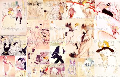 Toulouse Lautrec Sketches