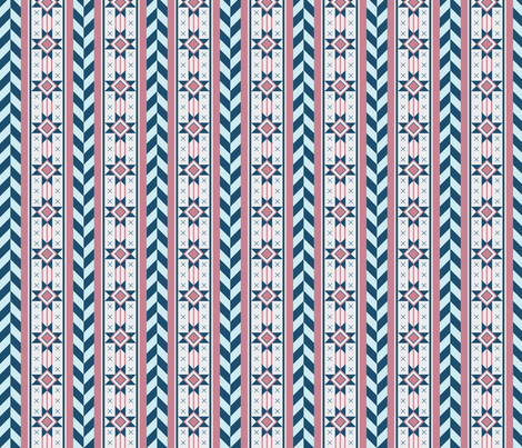 Soft Southwest fabric by stefaube on Spoonflower - custom fabric