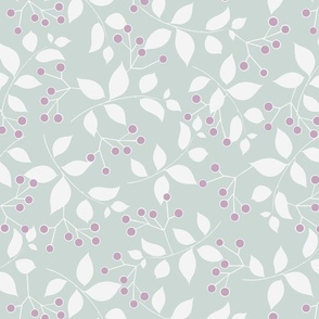 Sprig, Pale Blue + Lilac