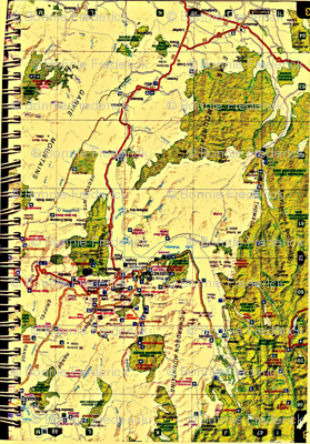 South Island Map Book