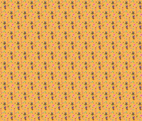 Stars_on_Wood fabric by ravynscache on Spoonflower - custom fabric