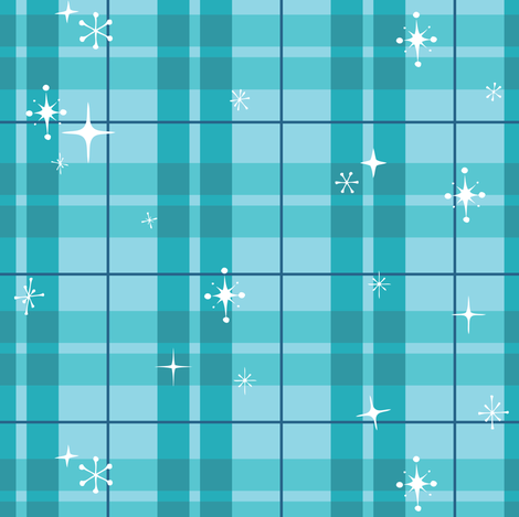 Retro Plaid fabric by illustrative_images on Spoonflower - custom fabric