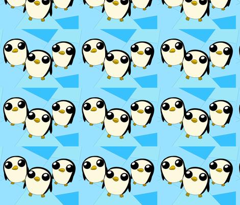 Adventure Time Gunter fabric by myke_m21 on Spoonflower - custom fabric