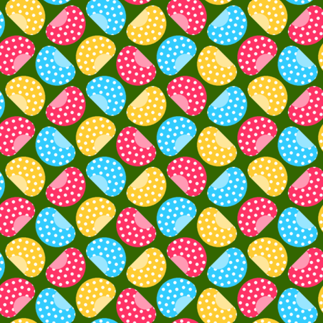 beans - magic fabric by sef on Spoonflower - custom fabric