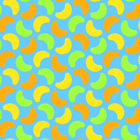 citrus segments fabric by sef on Spoonflower - custom fabric