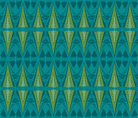 Tribal Pyjama fabric by spellstone on Spoonflower - custom fabric
