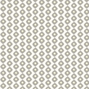 Ikat Square Grey/Citron