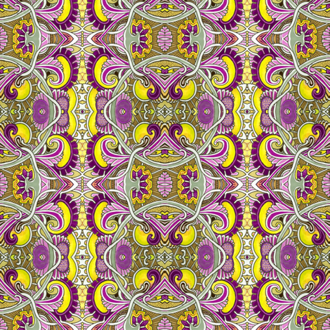 Shut Up and Eat That Eyeball Soup (abstract vertical stripe) fabric by edsel2084 on Spoonflower - custom fabric