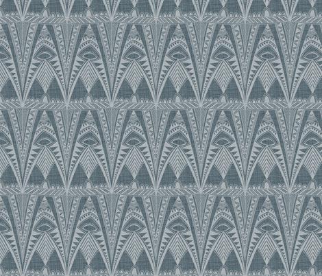 Wooly Pyjama fabric by spellstone on Spoonflower - custom fabric