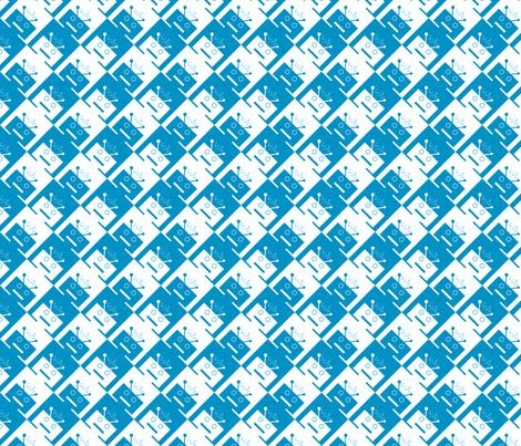 Robotooth fabric by elised on Spoonflower - custom fabric