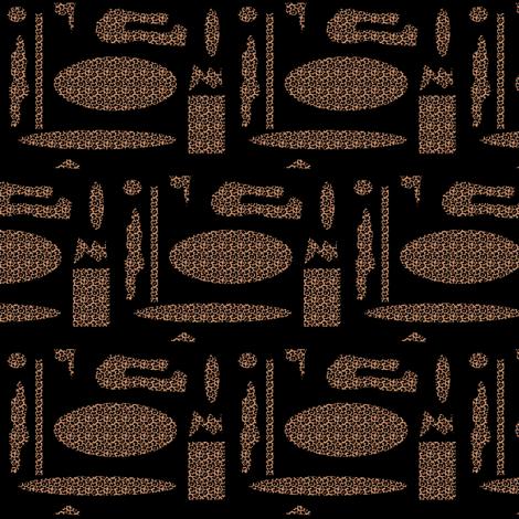 Random Leopard fabric by ravynscache on Spoonflower - custom fabric