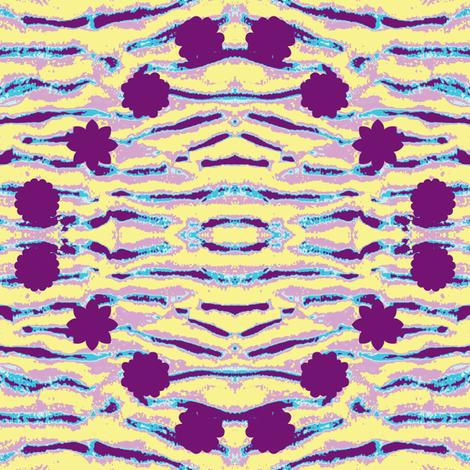 Purple Duneflowers fabric by ravynscache on Spoonflower - custom fabric