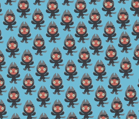 Lupetto fabric by ithinkp_print on Spoonflower - custom fabric
