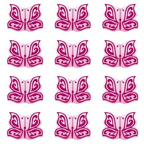 butterflies sew-on patches