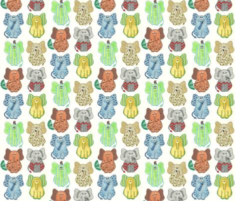 Ears of Elephants fabric by kbexquisites on Spoonflower - custom fabric