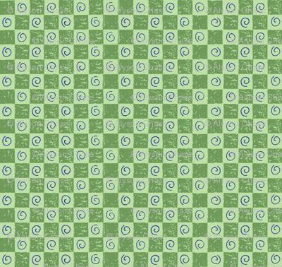 checkerboardandswirlsgreenpurple